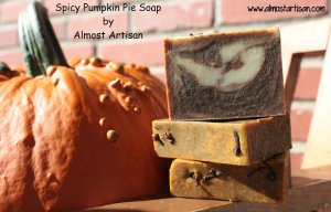 Pumpkin Pie Soap from Almost Artisan